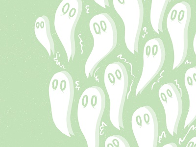 Millennials Be Ghosting spooky boo ghostly green ghosts