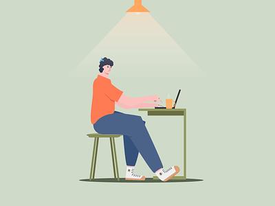 Online Shop Illustration illustration art illustration