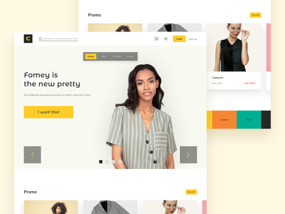 Brand fashion website exploration website design clean ui uxdesign ui designs uidesign
