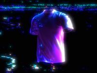 Shirt Walk Cycle 🚶♂️ c4d cinema 4d hologram glitch abstract walk cycle tshirt shirt mockup 3d mockup clothing fashion animation branding 3d