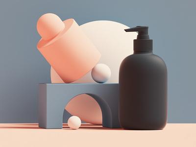 Set Design ⚪ web design scenes c4d scene abstract octane cinema 4d branding 3d