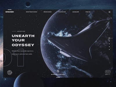 Spaced Web Concept 01 (work in progress)