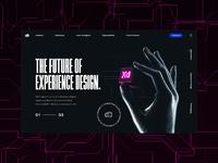 Adobe xd x bsb homepage