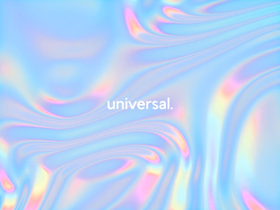 Universal Holo Gradient 🦄 trippy acid unicorn disrupt cinema 4d branding animation waves abstract c4d glow neon gradient motion octane 3d glitch holographic