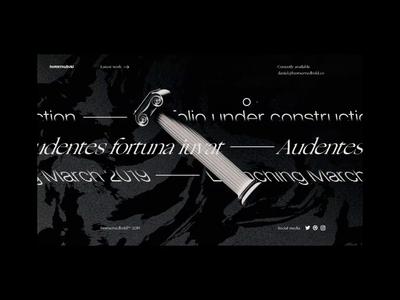 𝔅𝔢𝔰𝔱𝔖𝔢𝔯𝔳𝔢𝔡𝔅𝔬𝔩𝔡 - Portfolio Landing Page render abstract ui interaction c4d cinema 4d kinetic typography ux-ui ux web design homepage landing page portfolio octanerender bestservedbold octane animation branding 3d