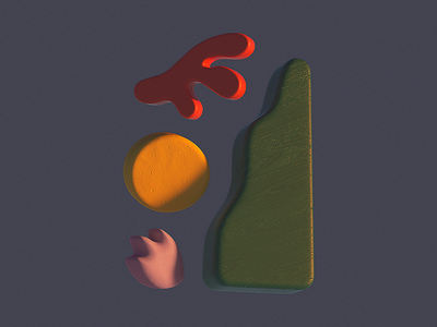 Shapes c4d visual shapes artist illustration octane abstract cinema 4d branding 3d