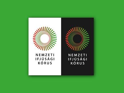 National Youth Choir of Hungary youth choirsinging choirtour choir branding design brand identity singing music branding brand design logodesign logo design logo