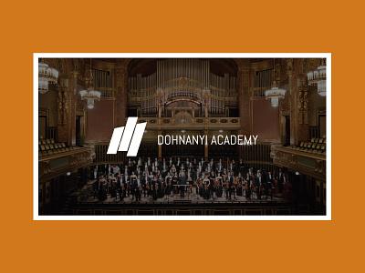 Dohnanyi Academy conductor masterclass orchestra website web design webdesign brand identity logo design branding music logodesign brand design logo