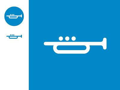 ImPulzus Creative Music Lab musicschool trumpet instruments instrument icon design icon set icon design music brand identity logo branding brand design