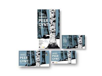 Concert graphics orchestra grieg peergynt design graphicdesign graphic design illustration concert flyer concert poster music concert grpahic concertgraphic