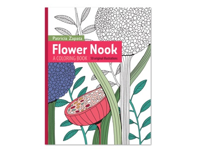 Flower Nook A Coloring Book By Patricia Zapata