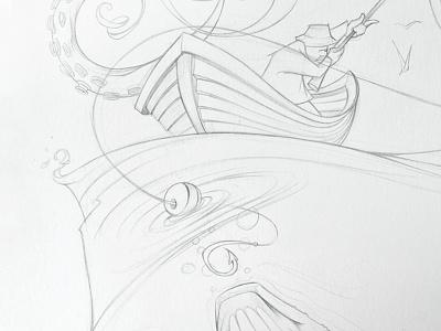 Seasection Sketch illustration sketch