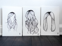 Trio of hairdos, part II