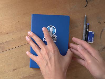 Video of Portrait Process video process wip sketch procreate ipad pro portrait illustration