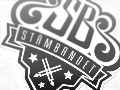 Stämbandet - done logo typostration text branding vector