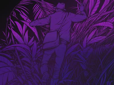 Lost forest procreate digital illustration illustration
