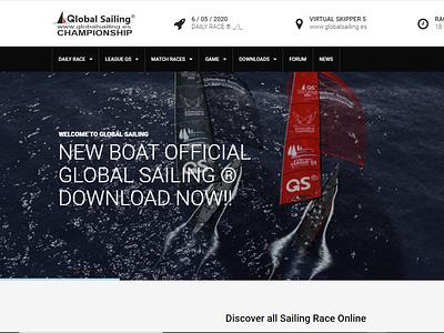 GLOBAL SAILING DESIGN WEB programmer server domain domnio domnio hosting design website design web