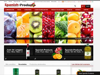 SPANISH PRODUCTS SHOP DESIGN diseño profesional diseño profesional diseño web products page design web spanish products spanish products export tienda tienda online onlineshop shop products