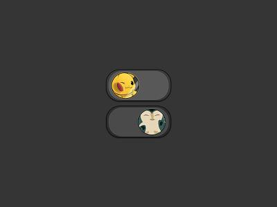 #DailyUI 015 - On/Off Switch pokemon ux ui dailyui 015 dailyui