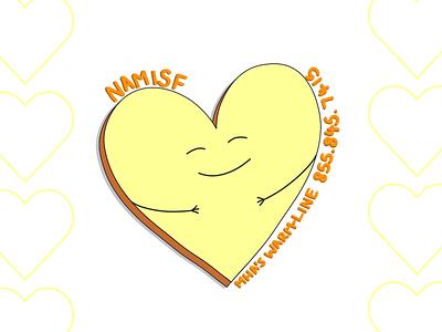 NAMISF Potential tote bag illustration logo design illustration