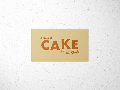 A Piece of Cake Logo design branding design branding graphic design graphicdesign logodesign logo design logotype logos logo