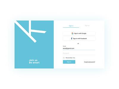 Sign In Form registration sign up form design forms sign in figma minimal ui design