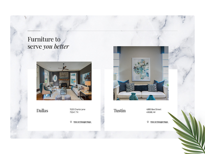 UI Redesign web designer furniture branding digital agency web design minimal design interaction interface