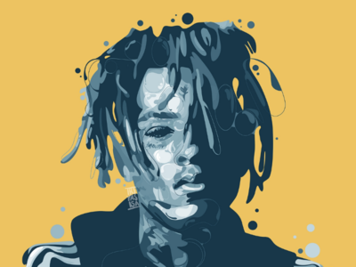 XXXTENTACION curve graphicdesigner graphicdesign design adobeillustration artwork illustrationportrait illustration portrait vector vectorart unique hypebeastmusic rappmusic rapper music xxxtentacion