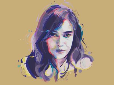 women artwork art fulcolor illustrationportrait graphicdesign digitalpaint abstrack women popart colorful 3d design illustration portrait vectorportrait vectorart vector