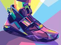 nike shoes for rainy season illustration art digital illustration illustration illustrator digital art design art full color colorful pop art wpap hypebeast sneaker shoes nike running nike shoes nike