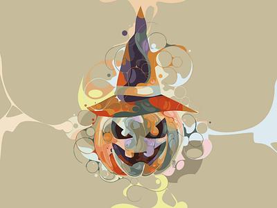 🎃 fullcolor colorful popart liquid cover album brand logo work commissions digitalart graphicdesign design illustrator vectorart vector illustration helloween art october helloween