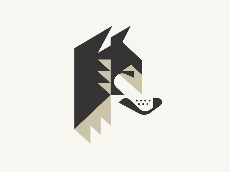 Loyola animal logo animal college university chicago dog wolf