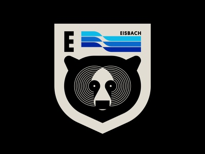 Eisbach pt. VII water york new brooklyn surfing surf wave animal bear shield