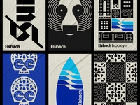 Eisbach pt. XI water wave bear nyc brooklyn pattern skull blackletter board surfing surf sea ocean towel beach