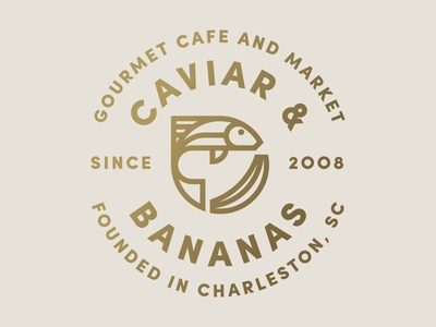 Caviar & Bananas fish gourmet seal market cafe banana caviar