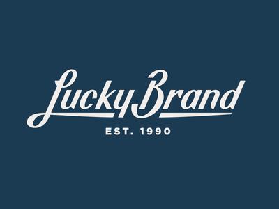 Lucky Brand pt. II lucky jeans script