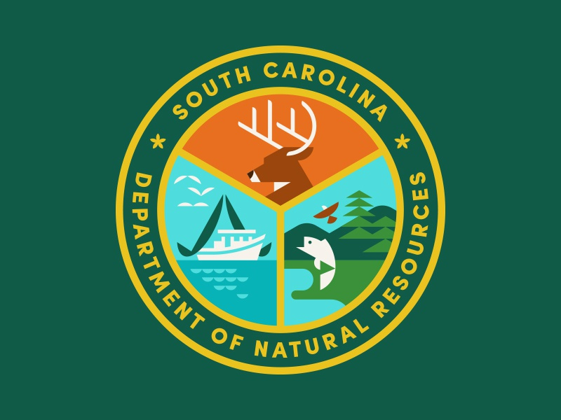 SCDNR nature water eagle fish deer hunting fishing dnr sc