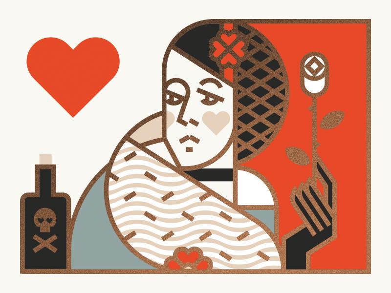 Queen of hearts j fletcher