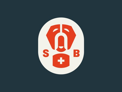 Saint Bernard pt. IV cross swiss dog bernard st saint