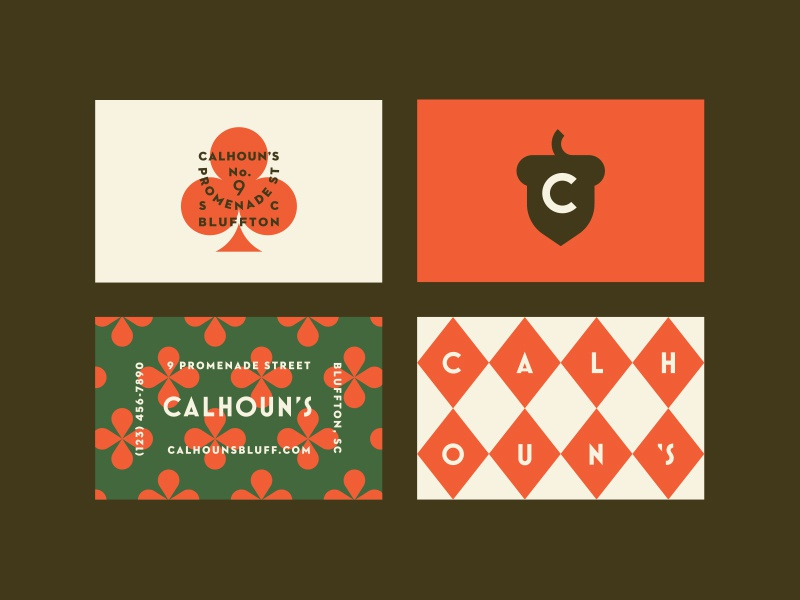 Calhoun's pt. II restaurant bar tavern club clover south carolina acorn
