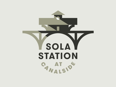 Sola Station pt. II tracks station train
