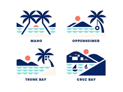 The Longboard pt. X boat john saint sun tree palm ocean beach