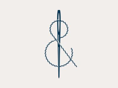 Threadpersand ampersand thread needle