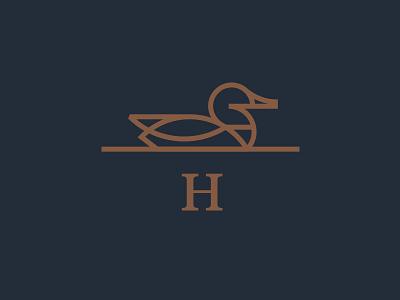Huck fowl water bird duck h