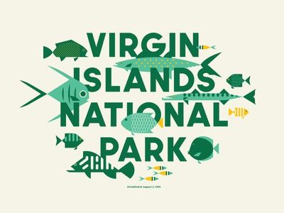 Virgin Islands National Park – Type Hike ocean water tropical fish usa