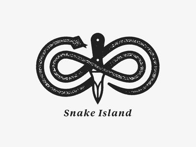Snake Island charleston knife oyster water
