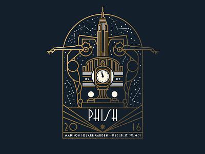 Phish stars york new ny nyc building state empire