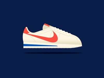 Apple cortez sneaker shoe nike