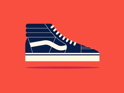 Apple pt. II sneaker shoe vans