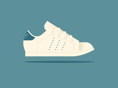 Apple pt. III shoe sneaker smith stan adidas